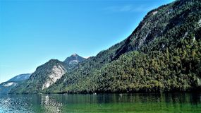 Koenig see Germany. Bayern Water stock photo