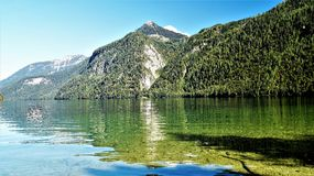 Koenig see Germany. Koenig see Germani Sommer Lake Water royalty free stock image