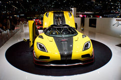 Koeniggsegg One:1 Geneva 2016 Stock Photos