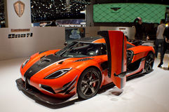 Koeniggsegg One:1 Geneva 2016 Stock Photography