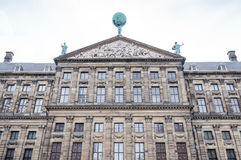 Koenigliches Schloss in Amsterdam, Architecture Details Stock Image