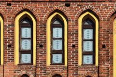 Koenigsberg Cathedral, facade fragment. Kaliningrad, Russia Stock Photography