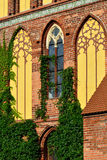Koenigsberg Cathedral, fragment of facade Royalty Free Stock Photography