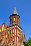 Koenigsberg Cathedral - Gothic temple 14th century. Kaliningrad, Russia Royalty Free Stock Photography