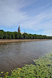 Koenigsberg Cathedral on the Kneiphof island Royalty Free Stock Photos