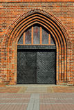 Koenigsberg Cathedral, main entrance Royalty Free Stock Photos