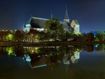 Koenigsberg Cathedral in the night, Russia Stock Image