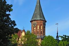 Koenigsberg Cathedral, symbol of Kaliningrad. Russia Stock Image