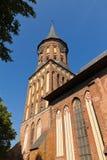 Koenigsberg domkyrka - gotiskt 14th århundrade. Kaliningrad (till Koenigsberg 1946), Ryssland royaltyfria foton