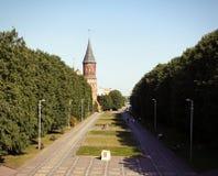 Koenigsbergkathedraal, Rusland stock afbeelding