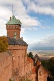 koenigsbourg för alsace slottfrance haut Arkivbild