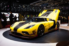 Koenigsegg Agera ML Stock Photos