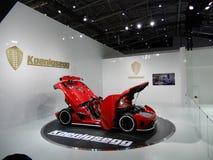 Koenigsegg Agera R, Guinness światowego rekordu właściciel Zdjęcie Stock