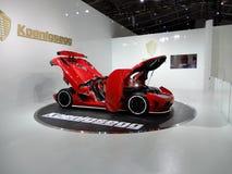 Koenigsegg Agera R, Guinness world record holder. 2018 Taipei auto show Stock Photo