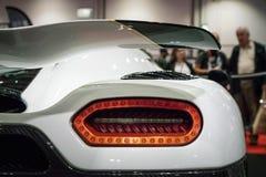 Koenigsegg Agera R zakończenie Up Strzelał Zdjęcia Stock