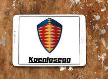 Koenigsegg cars logo Royalty Free Stock Photo