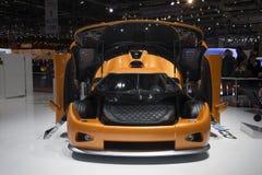 Koenigsegg CCXR Platinuss Fotografia de Stock Royalty Free