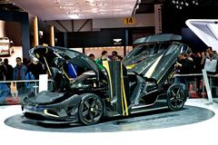Koenigsegg Hundra Arkivbild