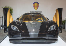Koenigsegg luxury sport car Stock Photo
