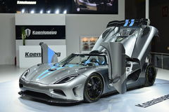 Koenigsegg One:1 supercar Stock Image