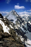 Koenigspitze peak, Eastern Alps Royalty Free Stock Image