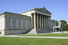 Koenigsplatz kwadrat w Monachium, Bavaria Obrazy Stock