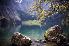 Koenigssee. Taken at koenigssee, Bavaria, Germany Royalty Free Stock Photography