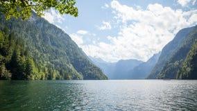 Koenigssee Berchtesgaden Stockfotografie