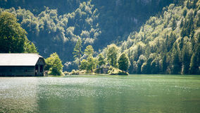 Koenigssee Berchtesgaden Royalty Free Stock Photos