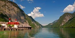 Koenigssee jezioro Zdjęcie Royalty Free