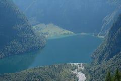 Koenigssee jezioro Obrazy Royalty Free