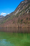 Koenigssee lake in Alps, Germany Stock Photos