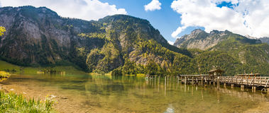 Koenigssee lake, Germany Royalty Free Stock Images