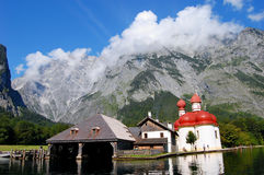 Koenigssee near Berchtesgaden, Germany Royalty Free Stock Images