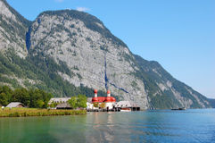 Koenigssee near Berchtesgaden, Germany Stock Photo