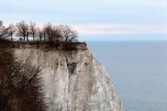 Koenigsstuhl (Stubbenkammer) at chalk cliff on Ruegen in Germany. Koenigsstuhl (Stubbenkammer) at chalk cliff on Ruegen Royalty Free Stock Images