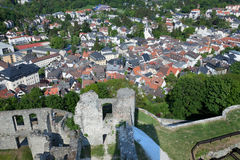 Koenigstein Altstadt and Castle Stock Photos