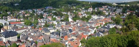 Koenigstein Panorama Royalty Free Stock Photos