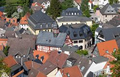 Koenigstein Rooftops Stock Photography