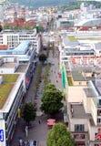 koenigstrasse斯图加特 免版税图库摄影