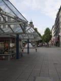 Koenigstrasse shopping street, Stuttgart Stock Images