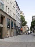 Koenigstrasse shopping street, Stuttgart Royalty Free Stock Photo