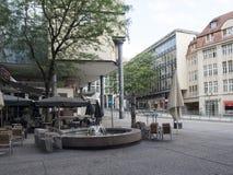 Koenigstrasse shopping street, Stuttgart royalty free stock images