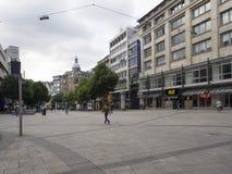 Koenigstrasse shopping street, Stuttgart stock image