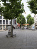 Koenigstrasse shopping street, Stuttgart Royalty Free Stock Photography
