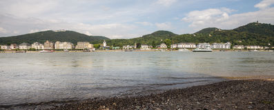 Koenigswinter germany and the rhine river Stock Images