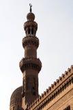 Koepel & minaret in Kaïro Royalty-vrije Stock Foto's