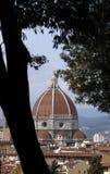 Koepel del brunelleschi, Florence Stock Foto's