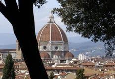 Koepel del brunelleschi, Florence Stock Foto