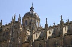 Koepel en bovenste gedeelte van de Nieuwe Kathedraal Stock Afbeeldingen